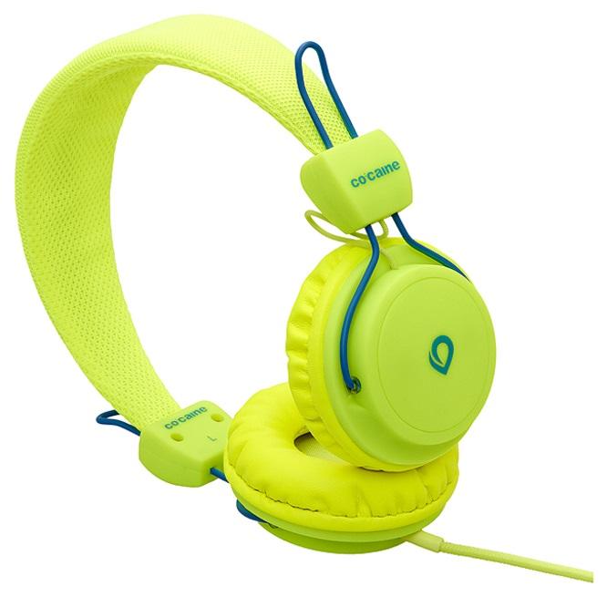 co-caine-City-Beat-Stereo-Kopfhoerer-3-5mm-Klinkenstecker-verschiedene-Designs