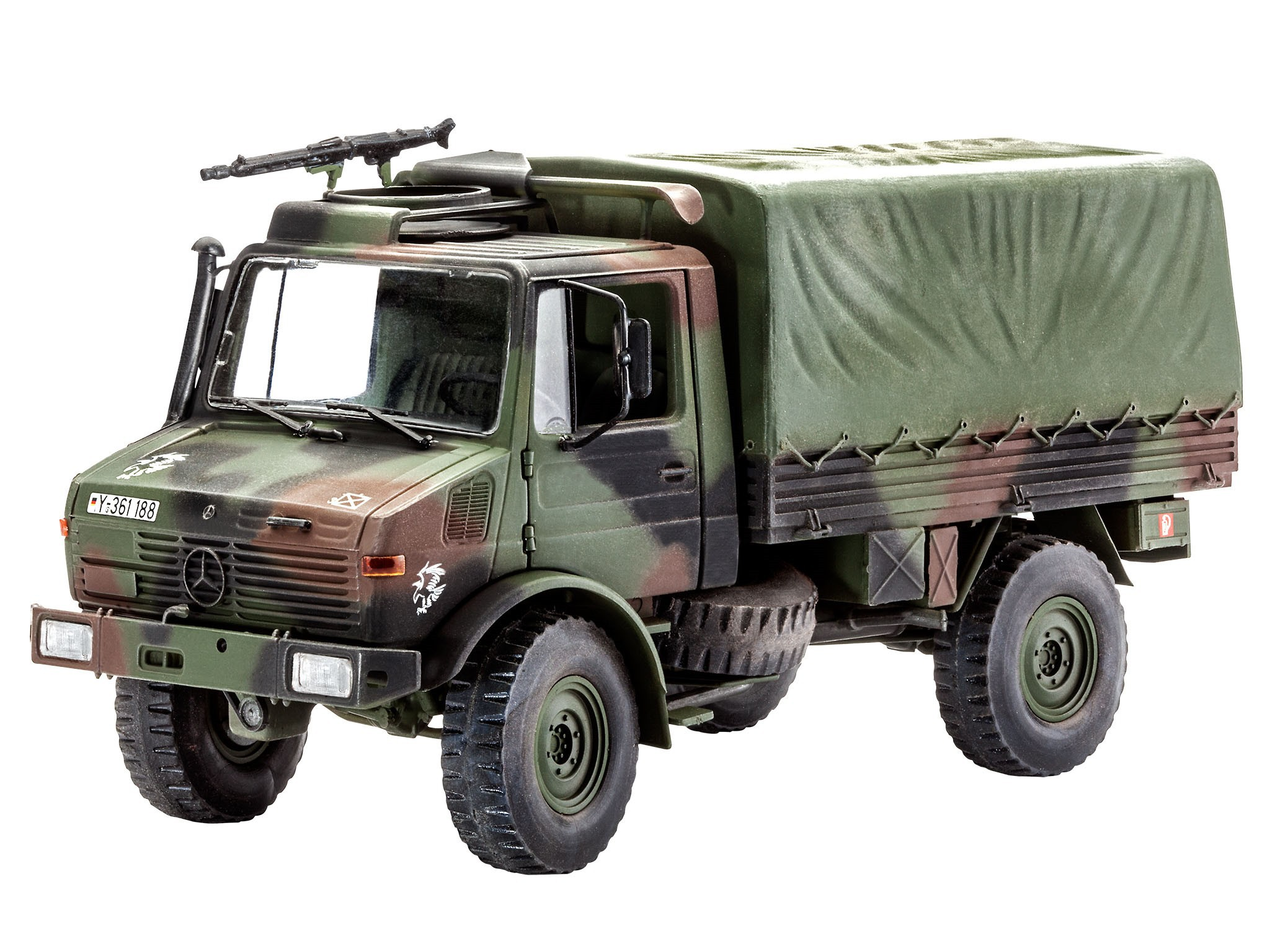 revell 03082 unimog lkw 2 tonnen tmilgl 1 35 bausatz modell transport bundeswehr ebay. Black Bedroom Furniture Sets. Home Design Ideas