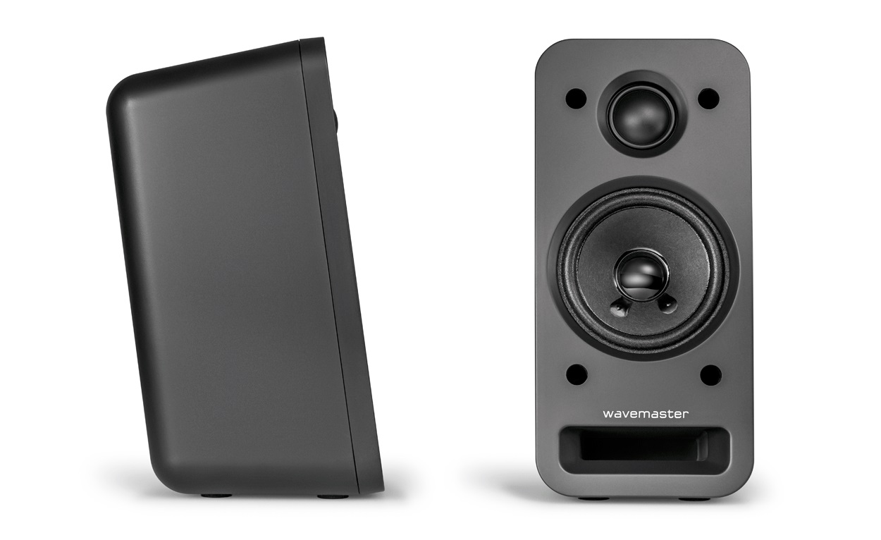 wavemaster mx3 bt 2 1 lautsprecher system 50 watt bluetooth streaming schwarz ebay. Black Bedroom Furniture Sets. Home Design Ideas