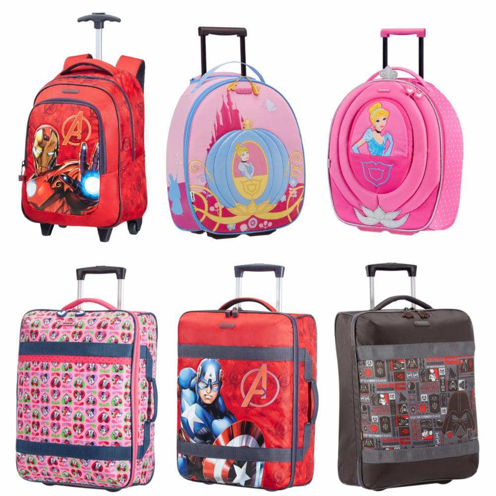 Samsonite Disney Kinder Trolley Koffer Wonder Princess Avengers ...