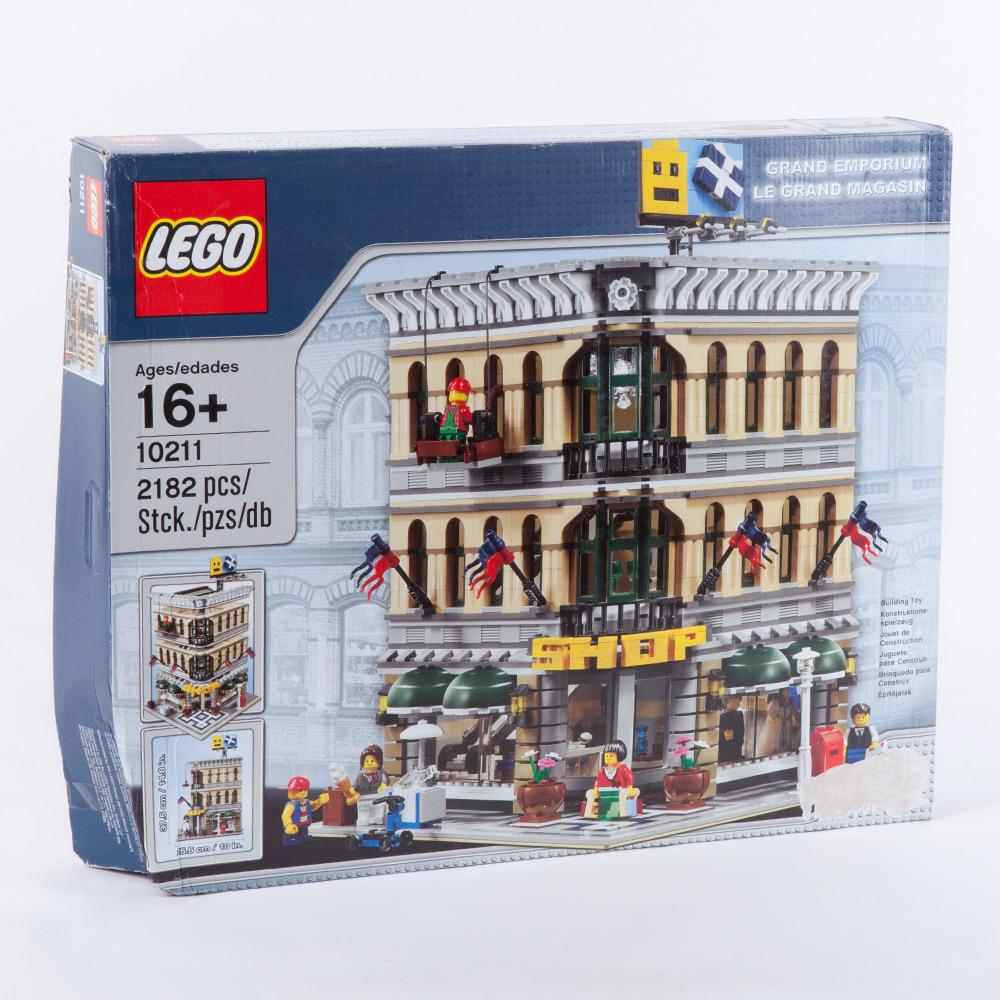 lego 10211 gro es kaufhaus einkaufen shop einkaufsladen sammler 673419128957 ebay. Black Bedroom Furniture Sets. Home Design Ideas