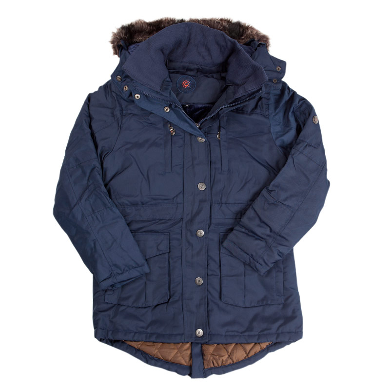 coastguard damen winterjacken parka jacke winterparka div modelle 36 48 ebay. Black Bedroom Furniture Sets. Home Design Ideas