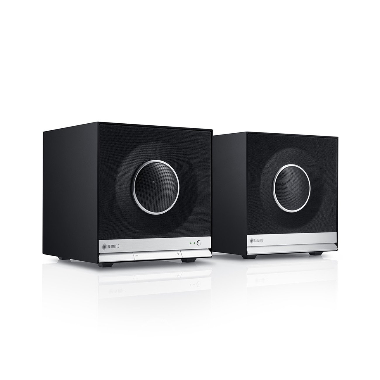 teufel raumfeld stereo cubes hifi lautsprecher streaming dlna usb multiroom ebay. Black Bedroom Furniture Sets. Home Design Ideas