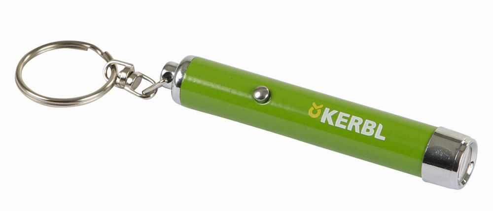 Kerbl Katzen LED Pointer Spielzeug Ø 12 * 80mm Motiv 1-3 Meter Schlüsselanhänger