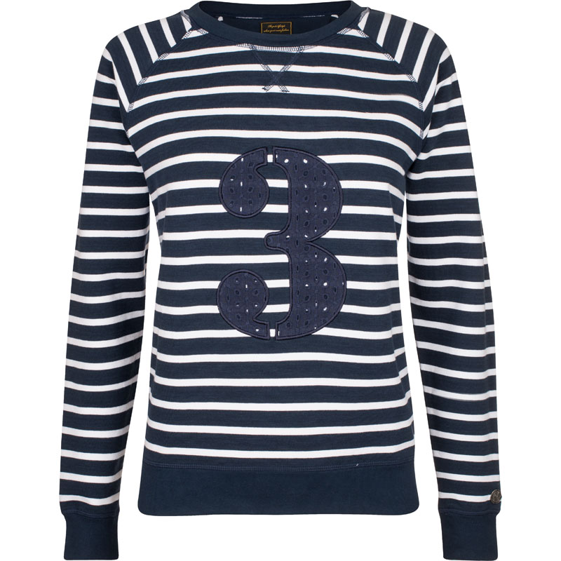 hv polo society pullover sweatshirt gestreift katoo navy. Black Bedroom Furniture Sets. Home Design Ideas