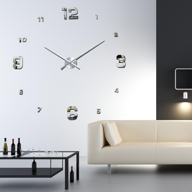 Walplus wanduhren uhr wandtattoo dekoration versch. designs&amp ...