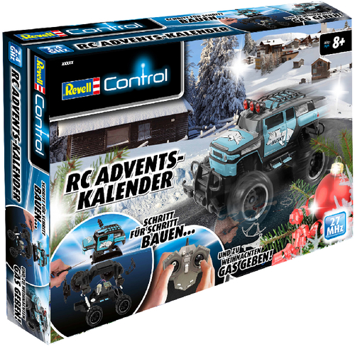 revell 01010 adventskalender rc truck advent kalender ferngesteuert auto modell ebay. Black Bedroom Furniture Sets. Home Design Ideas