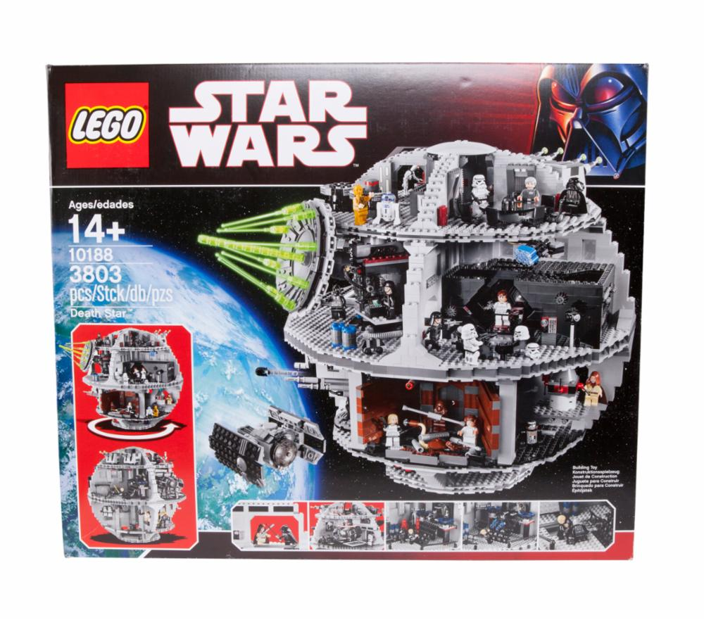 lego star wars 10188 todesstern death star bauk sten sets. Black Bedroom Furniture Sets. Home Design Ideas