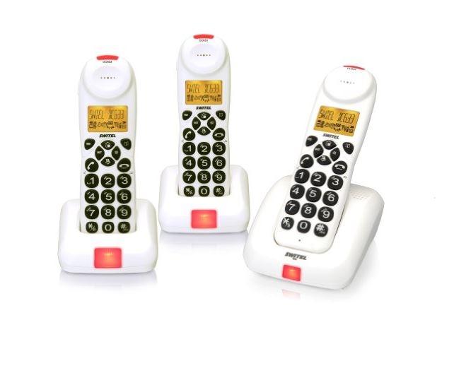 switel dc 633 trio ecomode telefon wei philips r6b 2a270 batterien aa 2700 mah. Black Bedroom Furniture Sets. Home Design Ideas