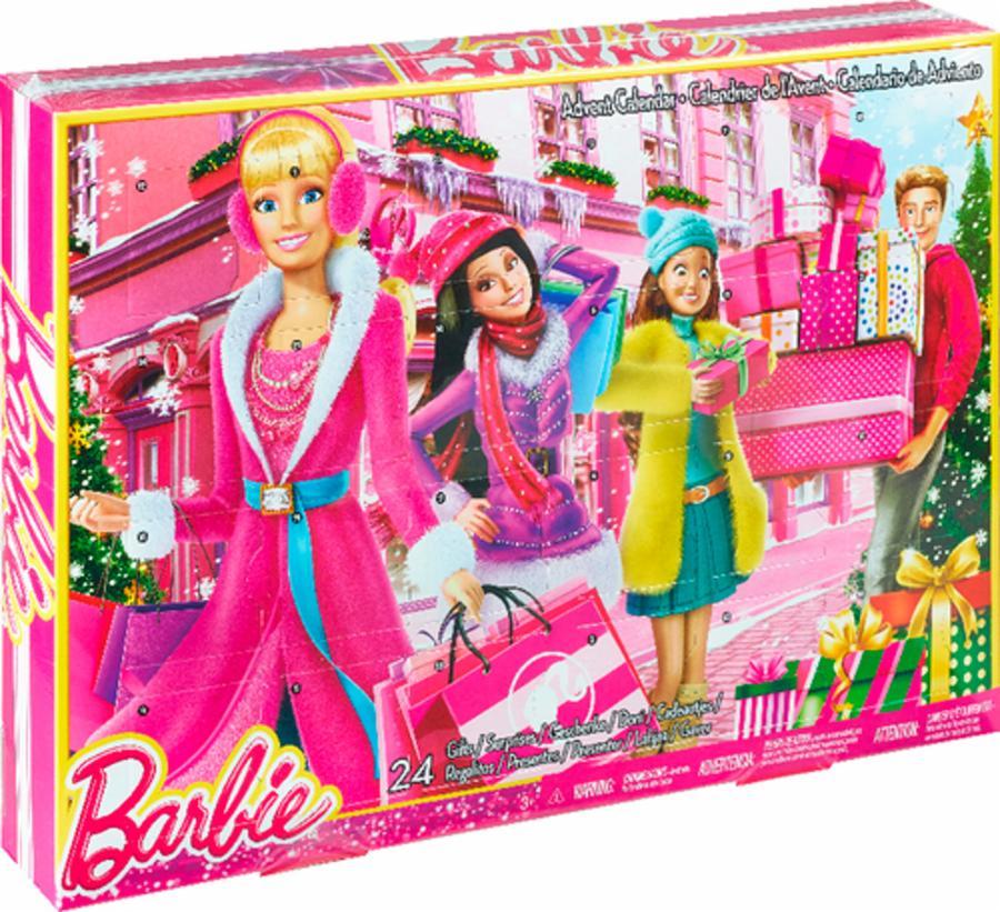 mattel clr43 barbie adventskalender spielzeug kinder. Black Bedroom Furniture Sets. Home Design Ideas