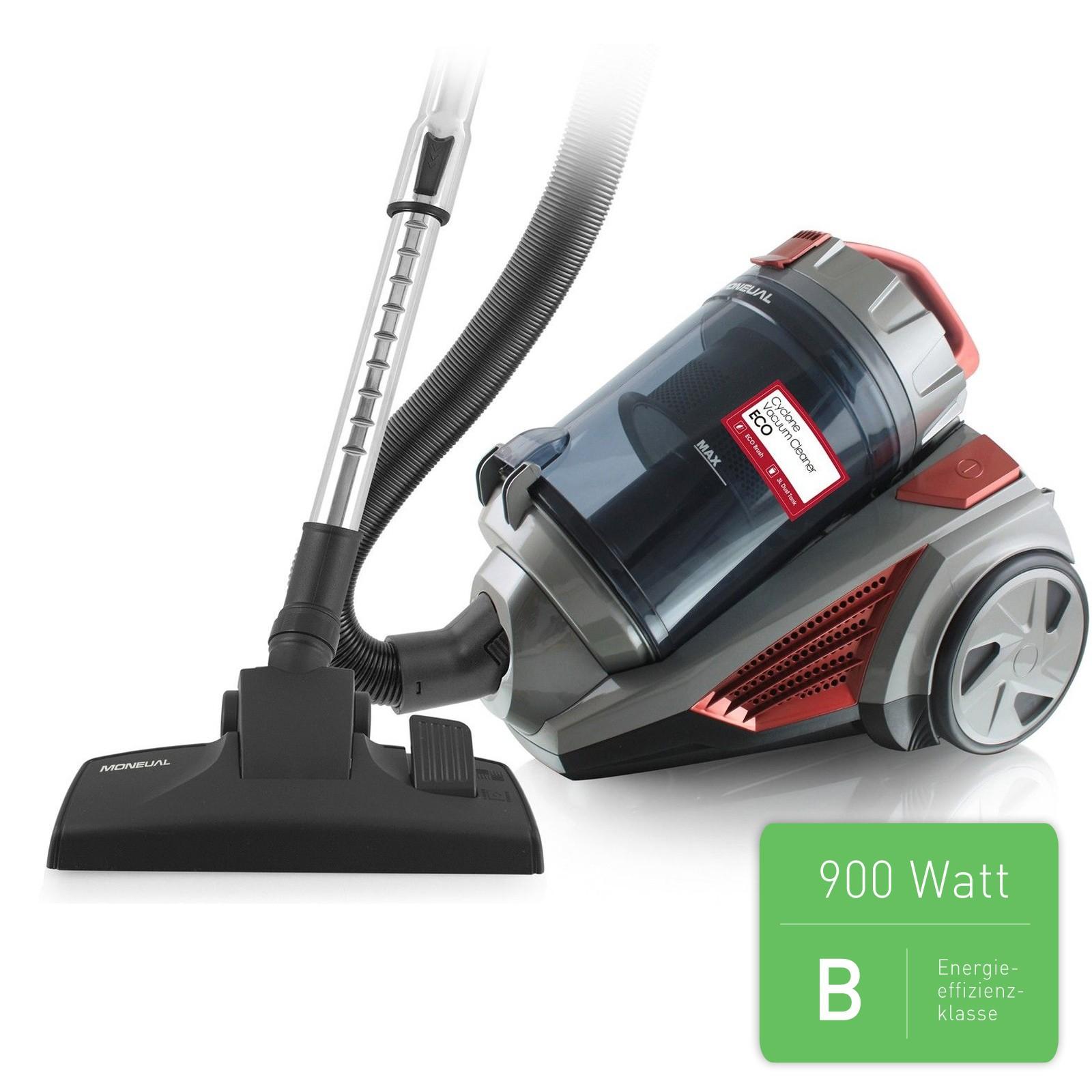 moneual mv300 cyclonepro beutellos staubsauger bodenstaubsauger 900 watt 3 liter ebay. Black Bedroom Furniture Sets. Home Design Ideas