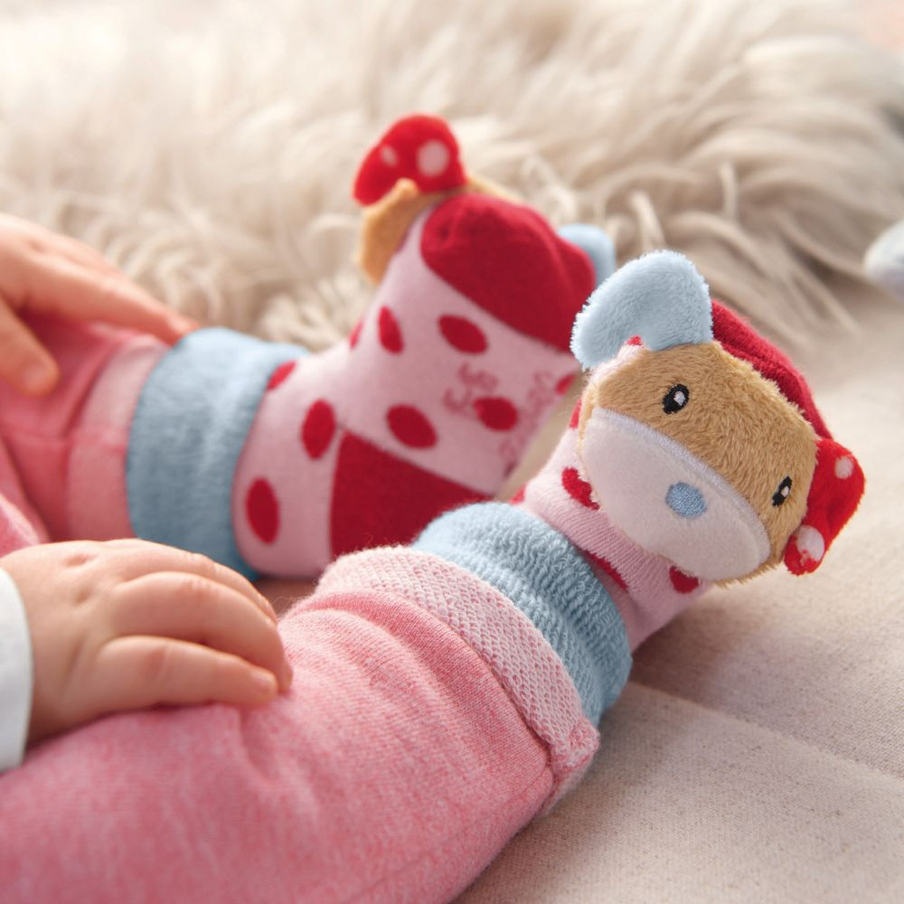 Sterntaler Baby-M/ädchen rassels/öckchen Socken