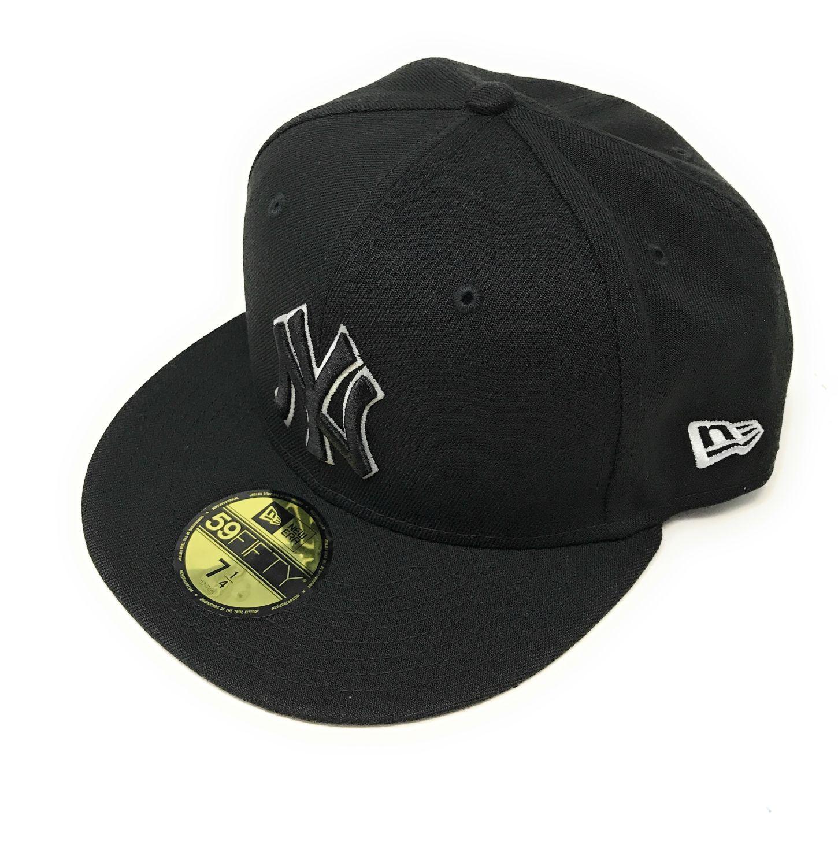 7 1//4 grey 59Fifty Baseball Cap NEW YORK YANKEES NEW ERA