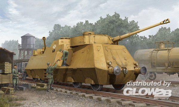 Trumpeter 1516 Plastikmodellbau Fahrzeuge Panzerjager-Triebwagen 51  | Der Schatz des Kindes, unser Glück