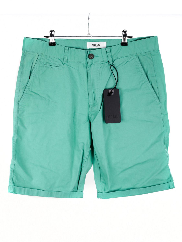! Solid Pantaloncini Da Uomo Chinoshorts Pantaloni Corti Casual Verde L-mostra Il Titolo Originale