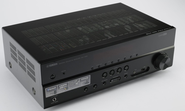 yamaha rx v383 av receiver hdmi 4k ultra hd hdr dolby. Black Bedroom Furniture Sets. Home Design Ideas
