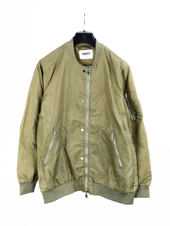 designer fashion 903d7 07622 TEN117 Damen Jacke Bomber Blouson Bomberjacke ...
