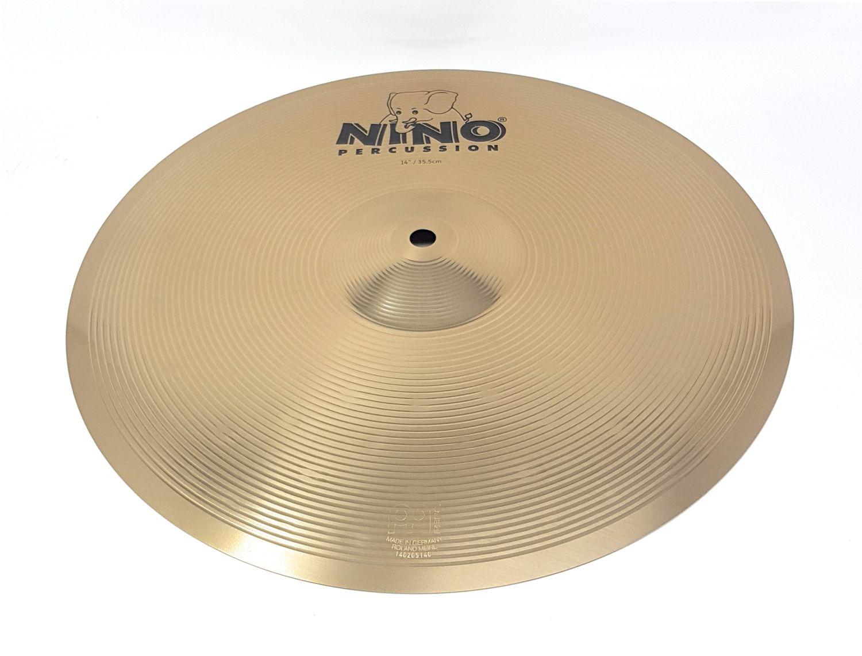 Nino Percussion NINO-NS355 Becken 35,6 cm 14 Zoll FX9 Legierung  Musikinstrument