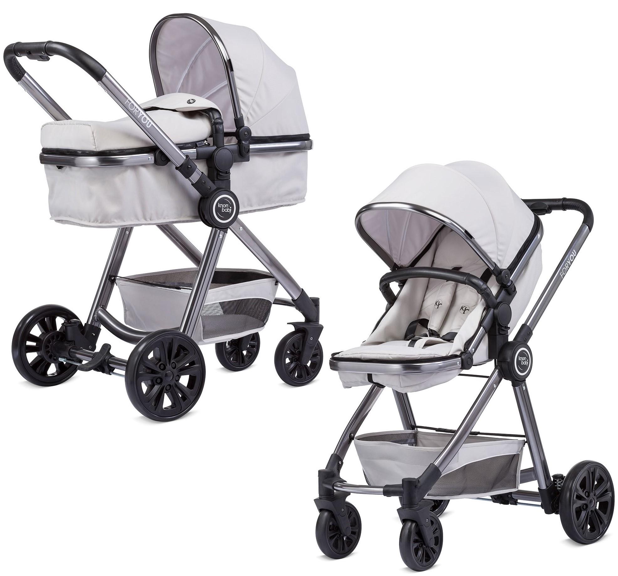 Knorr-Baby 860600 Kombikinderwagen For You Grau