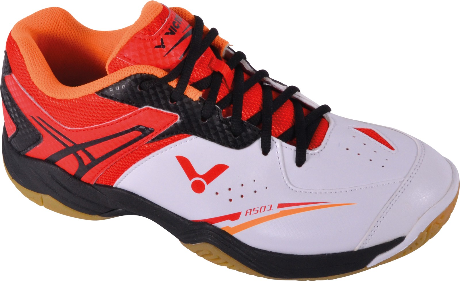 Details about Victor A501 White Red Indoor Sports Shoe Boot Badminton Squash Cushioning Size 43 show original title