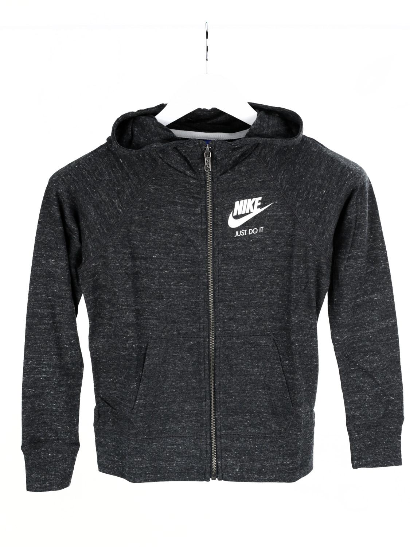 cdcb5ed9187edd Nike Kapuzenpullover Hoodie Mädchen Jungen Logo Anthrazit Grau M | eBay