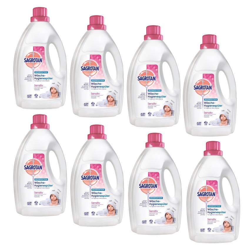 Sagrotan Wäsche Hygienespüler Sensitiv Sparpack Waschmittel div. Größen