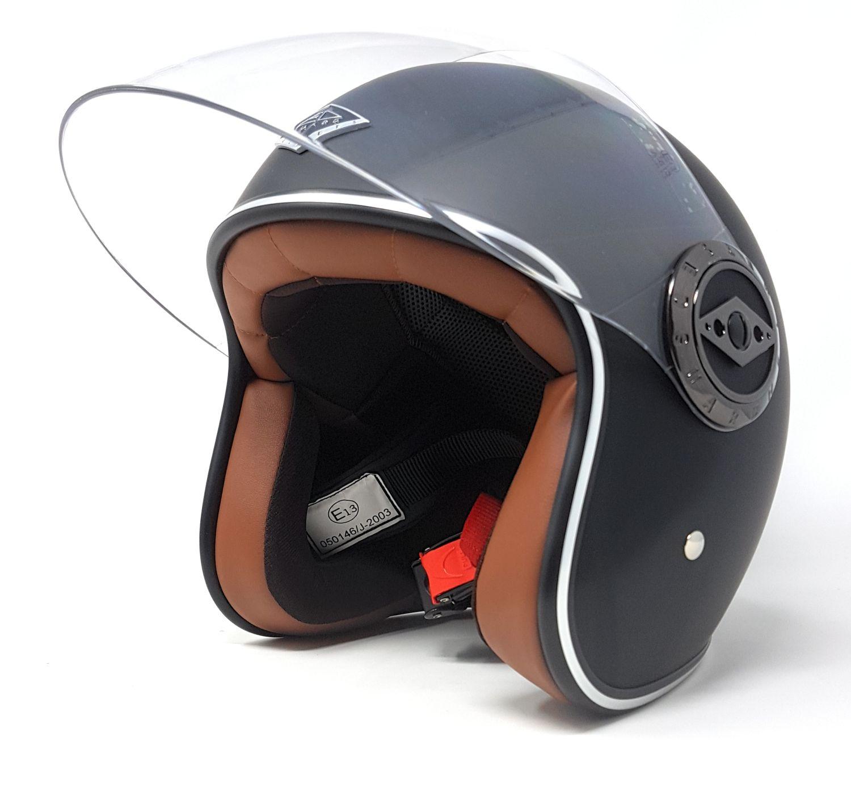 edguard customs vintage damen herren motorrad helm. Black Bedroom Furniture Sets. Home Design Ideas
