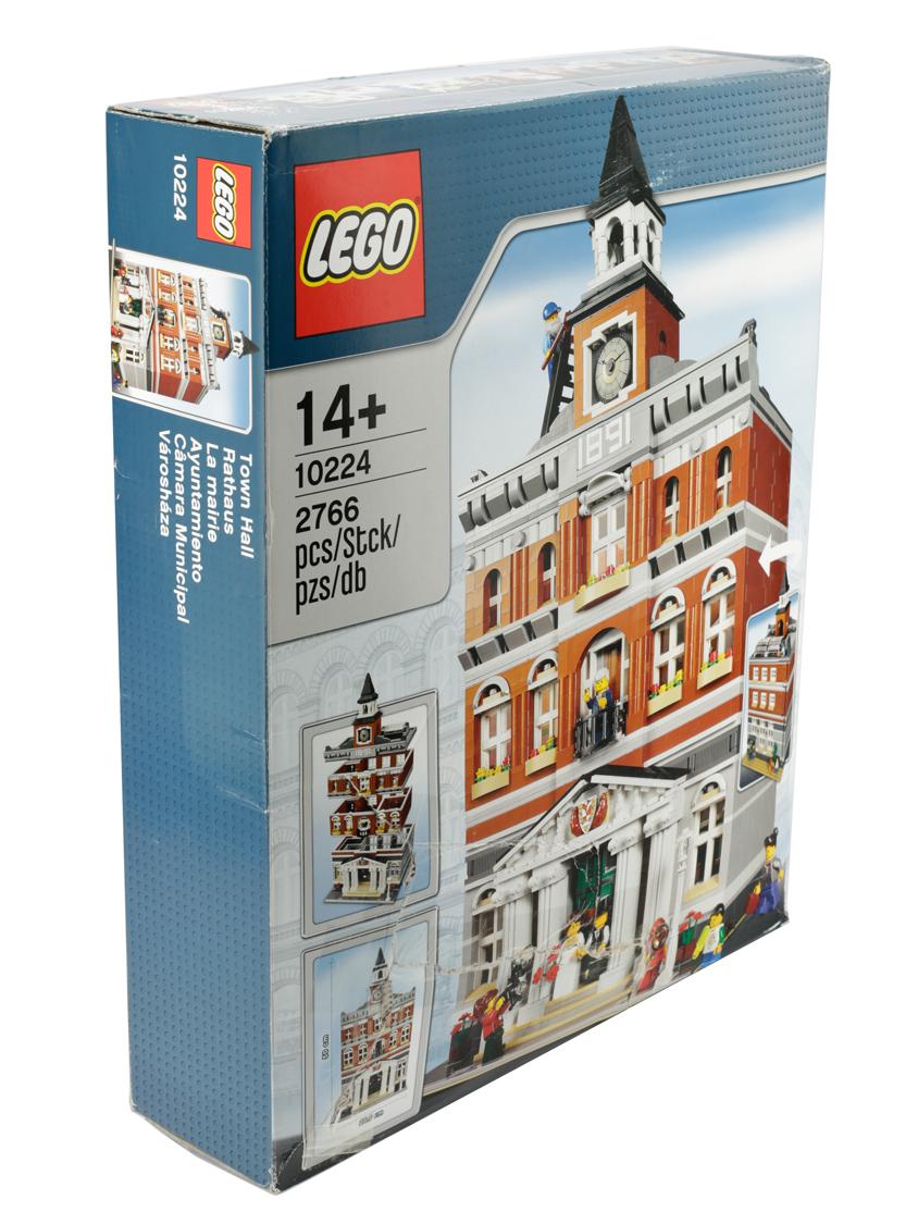 Lego Creator 10224 ayuntamiento ayuntamiento townhall modelo modelo de coleccionista coleccionista